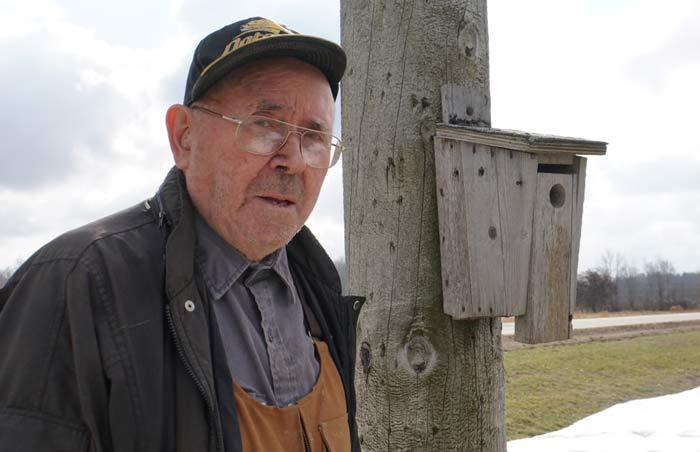 مرد ۹۱ سالهای که پادشاه خانه پرندگان جنوب غربی انتاریو است