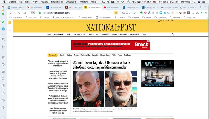 نشنال پست؛ از مهمترین فرماندهان نظامی در خاورمیانه