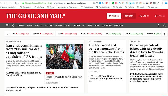 گلوباندمیل؛ ایران به همه تعهدات هستهای خود پایان داد