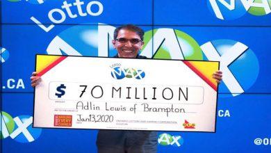 Photo of خوشبختترین آدم کانادا این هفته برنده جایزه ۷۰ میلیون دلاری لاتاری شد