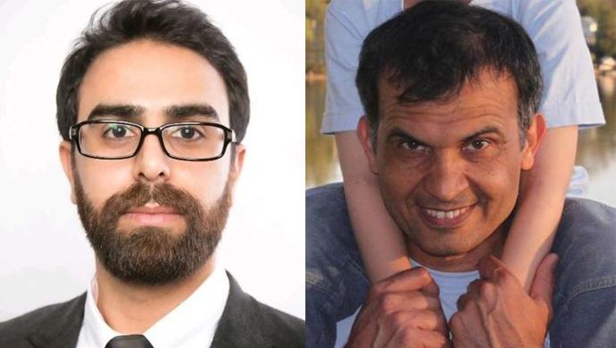 فرید آراسته، دانشجوی دانشگاه کارلتون و منصور پورجم فارغالتحصیل این دانشگاه
