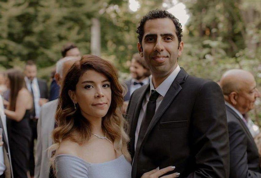 محمدحسین ساکت و همسرش فاطمه کازرانی، ساکنان ونکوور