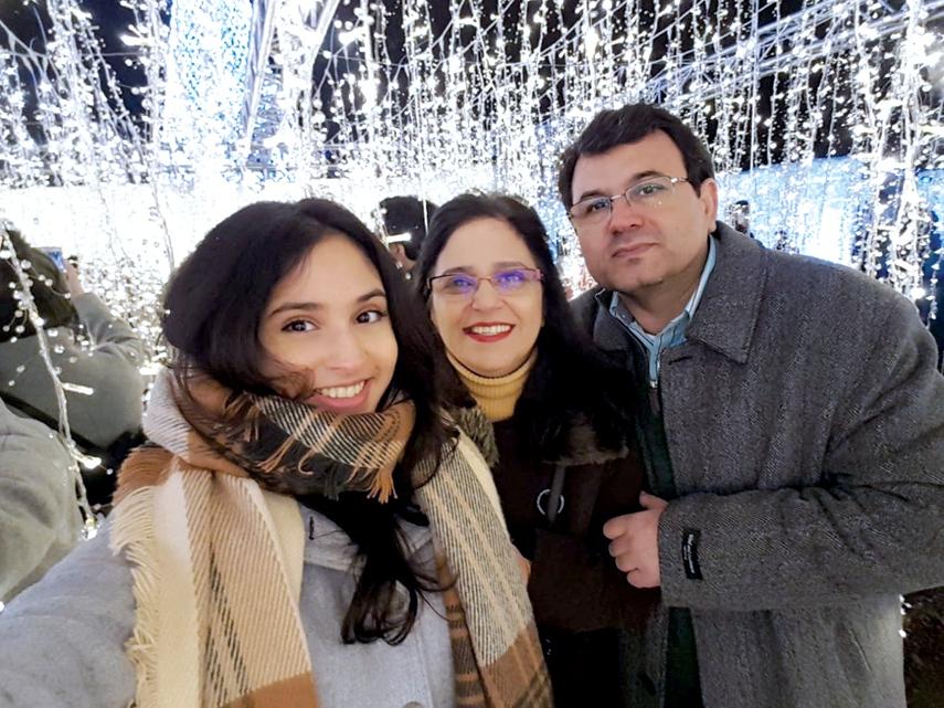 فیروزه مدنی و همسرش ناصر پورشعبان پزشکان ایرانی