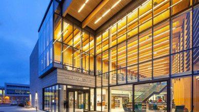 Photo of کتابخانه جدید ریچموندهیل با طراحی شگفتانگیز