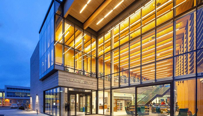 کتابخانه جدید ریچموندهیل با طراحی شگفتانگیز
