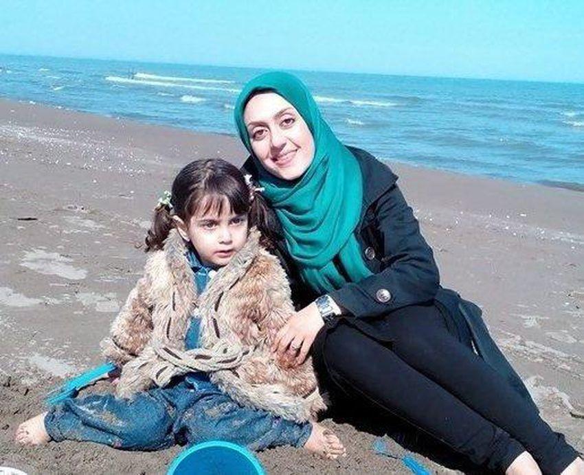 سحرناز حقجو و دخترش السا جدیدی ساکنان اسکاربورو
