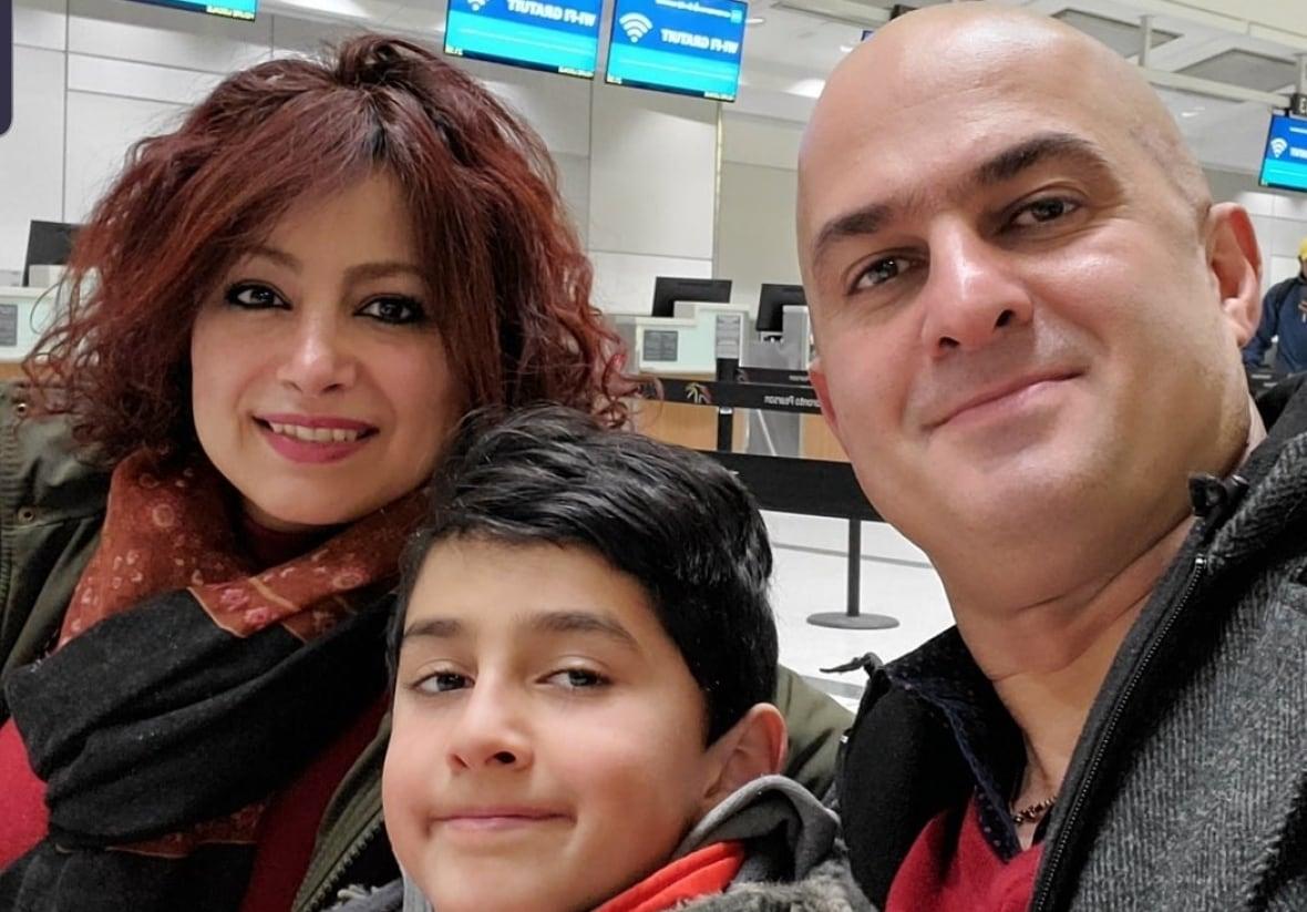 شکیبا فقاهتی و فرزندش راستین مقدم از تورنتو
