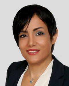 سوزان گل باباپور، کارمند سازمان زمینشناسی در ایران و مشاور املاک در کانادا