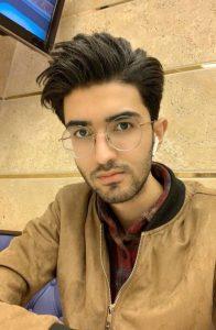 امیرحسین قربانی بهابادی، دانشجوی دانشگاه منیتوبا