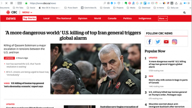 Photo of بازتاب کشته شدن قاسم سلیمانی در رسانههای کانادا