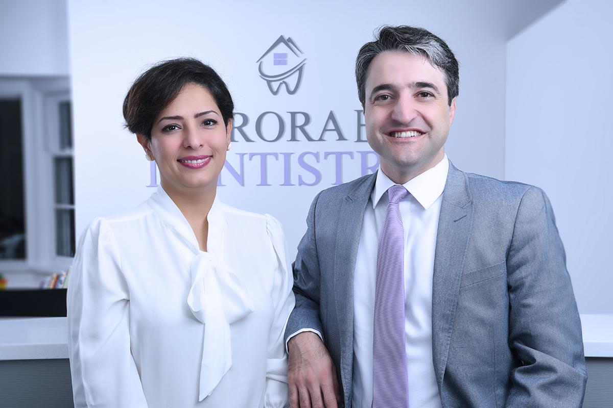 دکتر حامد اسماعیلیون و همسرش دکتر پریسا اقبالیان