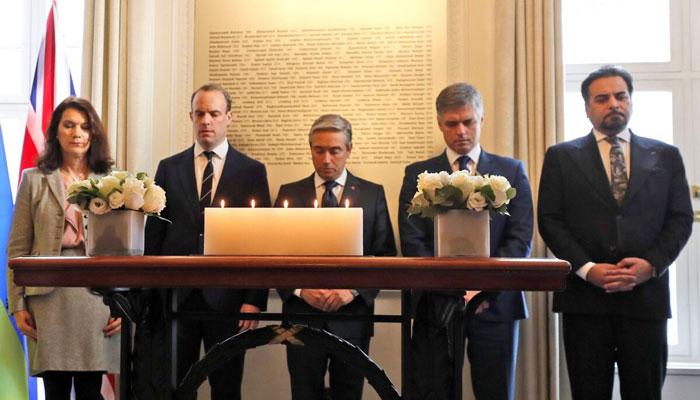 اظهارات امروز وزیران خارجه پنج کشور پس از نشست لندن درباره سرنگونی هواپیمای اوکراینی