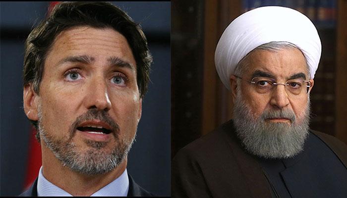 تماس تلفنی نخست وزیر کانادا با رئیس جمهور ایران درباره هواپیمای اوکراینی