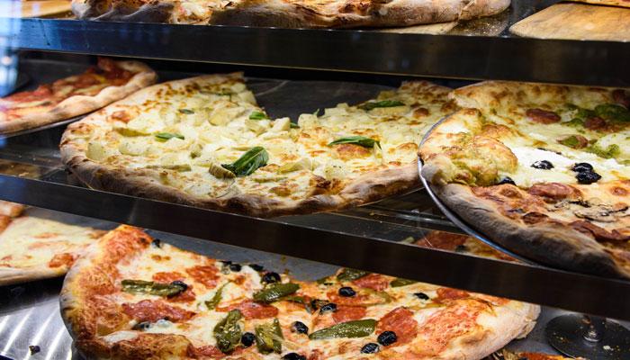 Pizza Gelato at Lamanna's Bakery