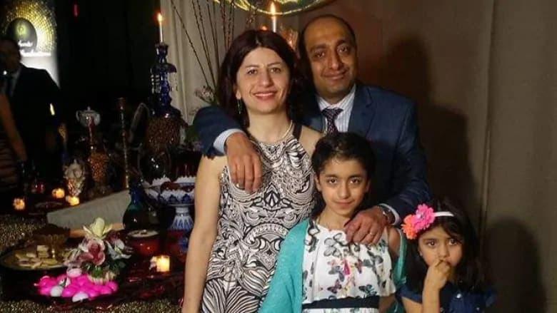 پدرام موسوی و همسرش مژگان دانشمند