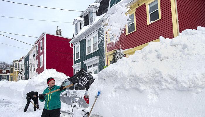 آیا نیوفاندلند برفهای بقیه استانهای کانادا را دزدیده است؟