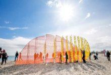 Photo of ساحل وودباین تورنتو به نمایشگاهی از چیدمانهای هنری تبدیل شده است