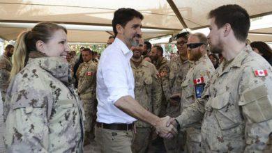 Photo of جاستین ترودو امروز برای دیدار با سربازان کانادائی به کویت رفت