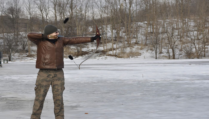 Winter Archery