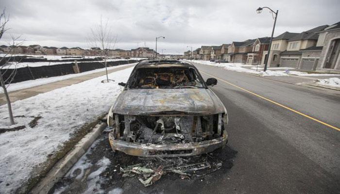 تیراندازی میان گروههای یدککش خودرو در تورنهیل تورنتو