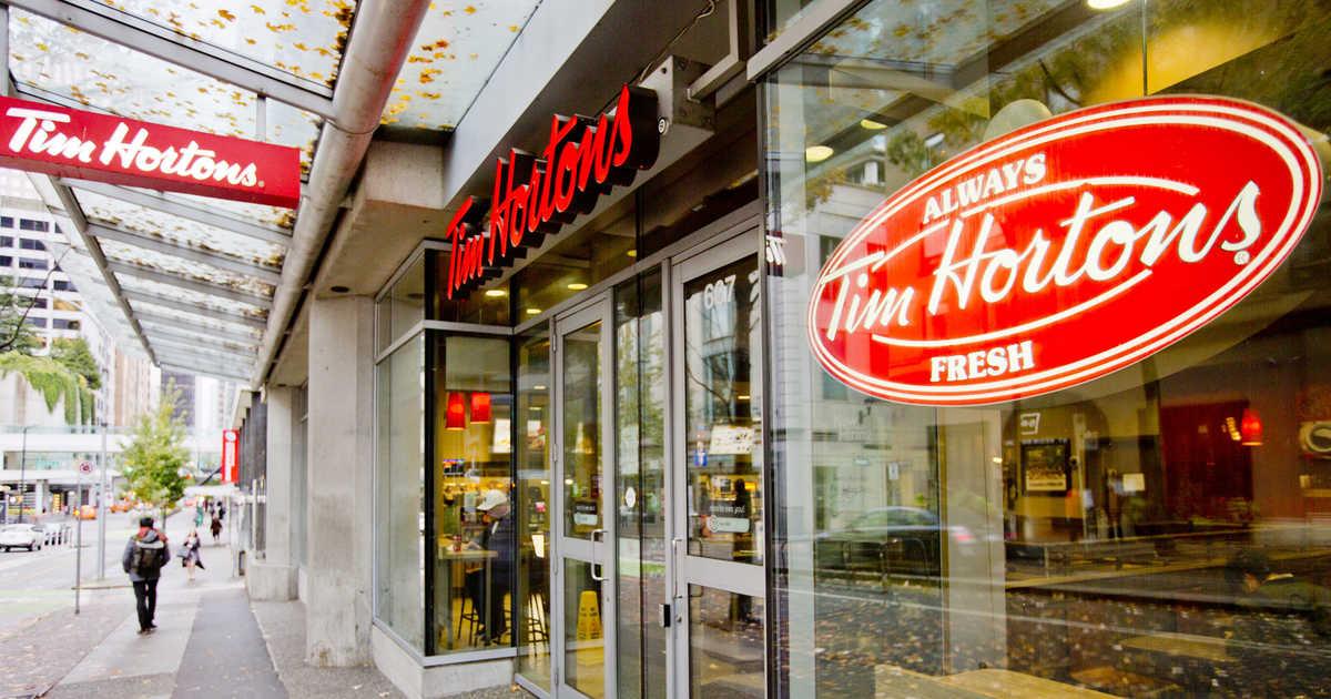 فروش تیم هورتونز در سه ماهه آخر پارسال کاهش یافته است