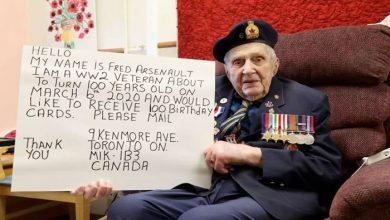 Photo of آیا آرزوی سرباز ۱۰۰ ساله کانادایی امسال برآورده میشود؟