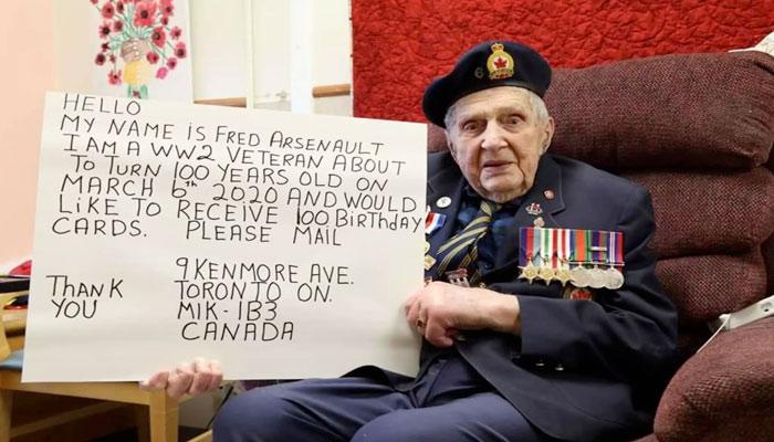 آیا آرزوی سرباز ۱۰۰ ساله کانادایی امسال برآورده میشود؟