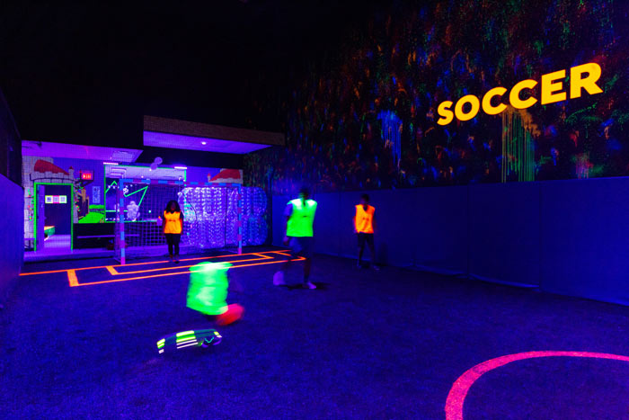 Glow-In-The-Dark Soccer