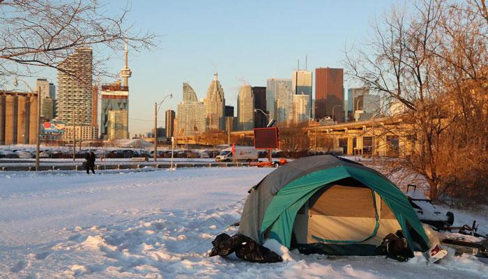 تورنتو، اختصاص متل برای قرنطینه بیخانمانهای مبتلا به کرونا