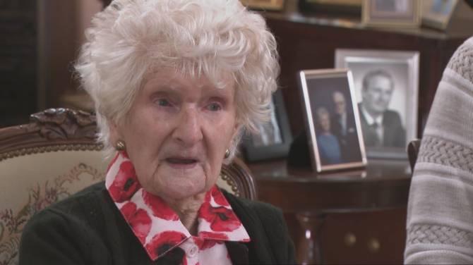 خانم ریجوِی، پیرترین فرد کانادایی ۱۱۳ ساله شد