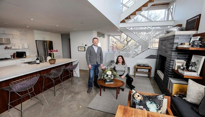 زوجی که یک گاراژ ویرانه را تبدیل به خانهای چند میلیون دلاری کردند