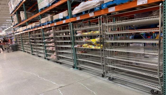 گزارش نشنال پست از خالی شدن قفسههای کاسکو به خاطر کرونا