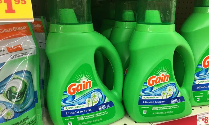خرید جذاب هفته - مایع لباسشویی Gain Aroma Boost Liquid