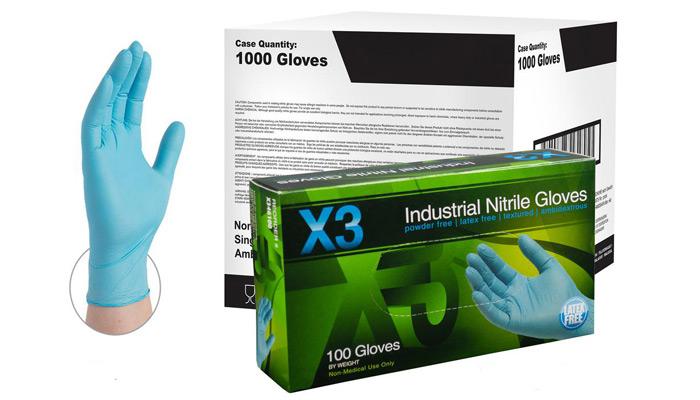 لوازم بهداشتی - دستکش نیتریل ammex