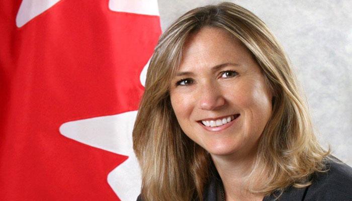 خانم هیلمن رسما به عنوان سفیر کانادا در آمریکا معرفی شد