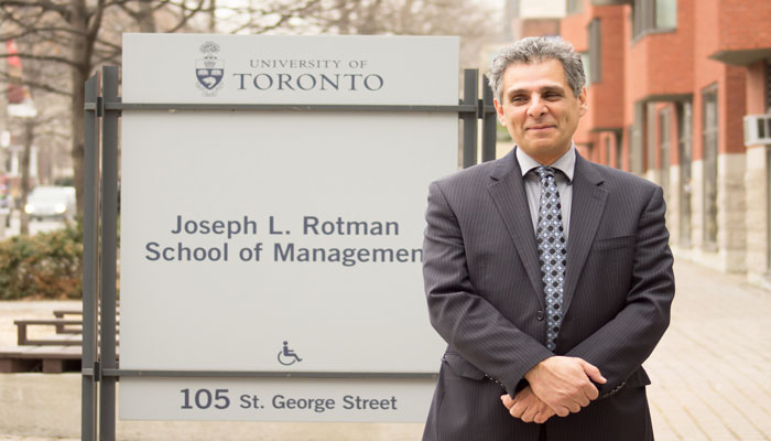 Associate An Hejazi Walid. Dr The At Economics Of Professor Management Of School Rotman