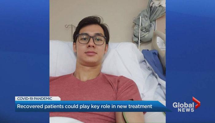 مرد تورنتویی که از کرونا بهبود یافته، داوطلب آزمایشهای تحقیقاتی شده است