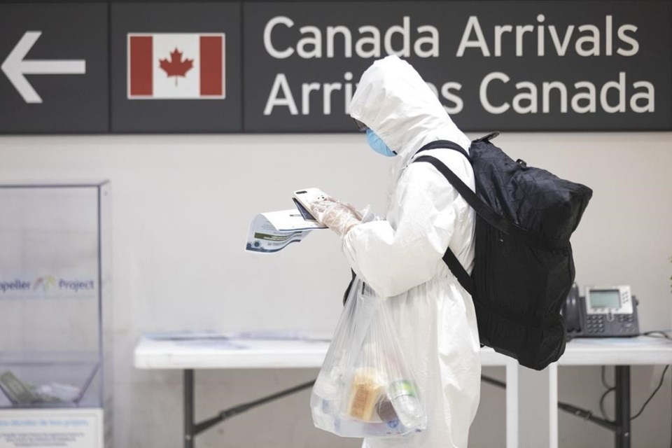 ۱۵۸ پرواز خارجی به کانادا حامل حداقل یک مبتلا به کرونا بوده است