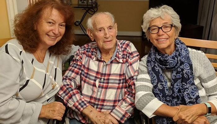 بدرود آقای مهاجر ۱۰۰ ساله؛ مردی که از جنگ جهانی جان سالم به در برد و بر اثر کرونا جان باخت