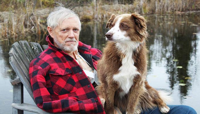 Photo of پرپل، سگ با وفایی که صاحبش را در جنگلهای بریتیش کلمبیا از خطر مرگ نجات داد