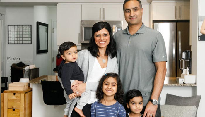 Photo of این خانواده ۵ نفره یک خانه تریپلکس دارند، ولی در یک کاندوی ۷۸ متری اجارهای زندگی میکنند