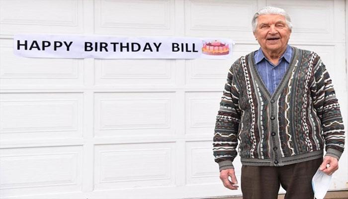 حتی کرونا هم مانع برگزاری جشن تولد ۹۹ سالگی آقای کودلسکی در آرورا نشد