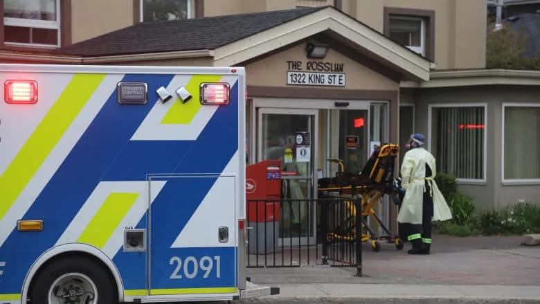 خانه سالمندان را در همیلتون تخلیه کردند، بیمار مبتلا به کرونا جا ماند