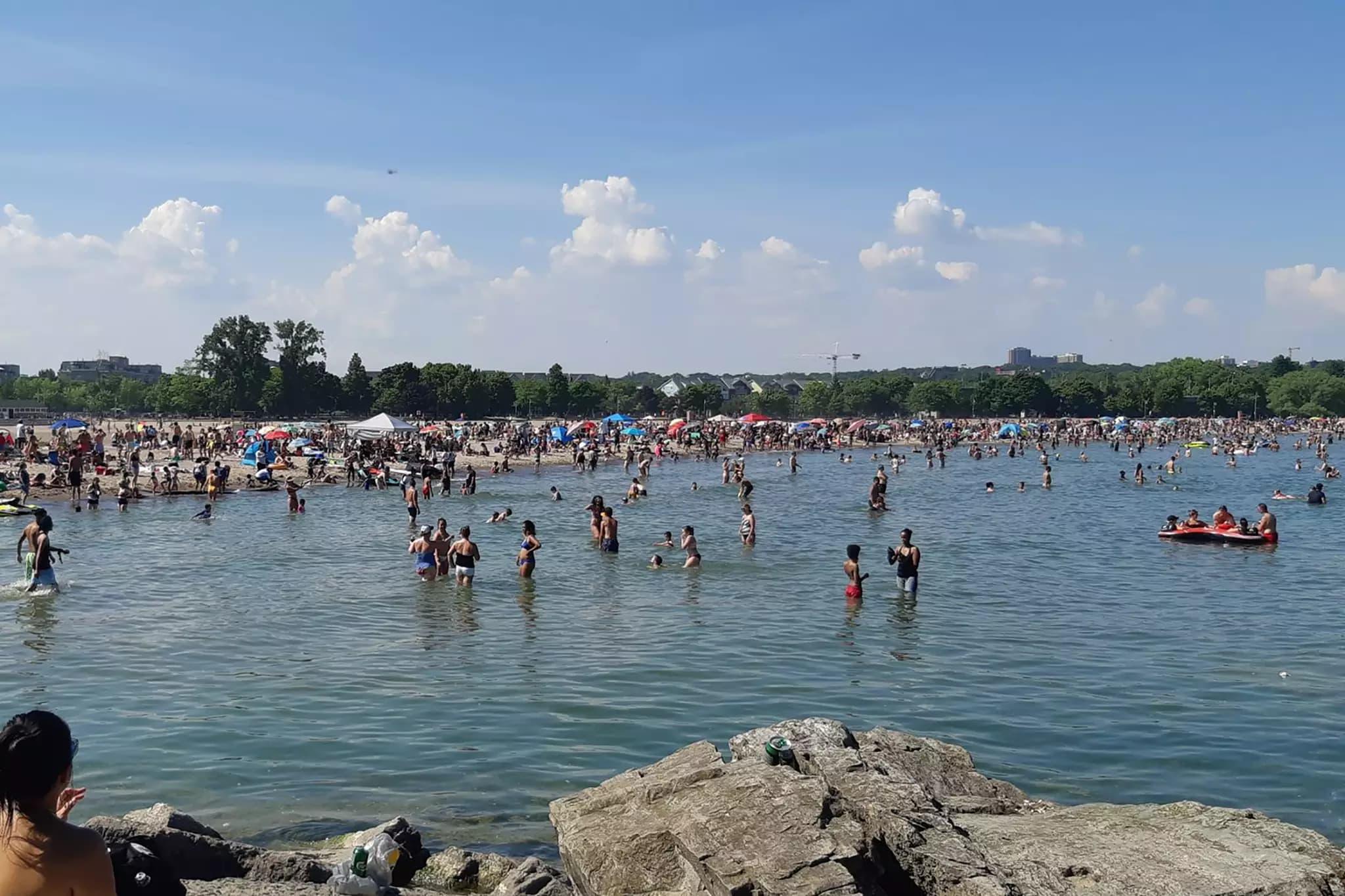 تورنتوئیها این آخر هفته ساحل وودباین را دیسکو کردند
