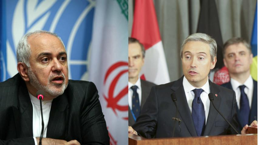گفتگوی تلفنی وزرای امور خارجه ایران و کانادا؛ تحویل فوری جعبه سیاه به اوکراین
