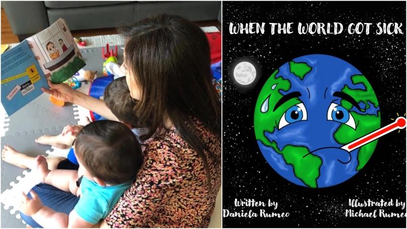 کتابی درباره کرونا برای کودکان به یاد مادربزرگی که دیگر نیست