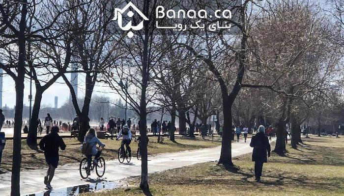 خیلی از مردم تورنتو این آخر هفته در پارکها بودند؛ ۷۵۰ تا ۵ هزار دلار جریمه در انتظار متخلفان