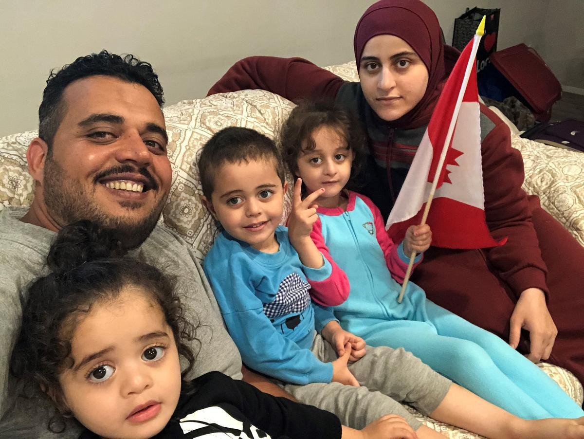 نخستین خانوادهای که از طریق برنامه جدید اسکان پناهندگان ماهر پذیرفته شدند