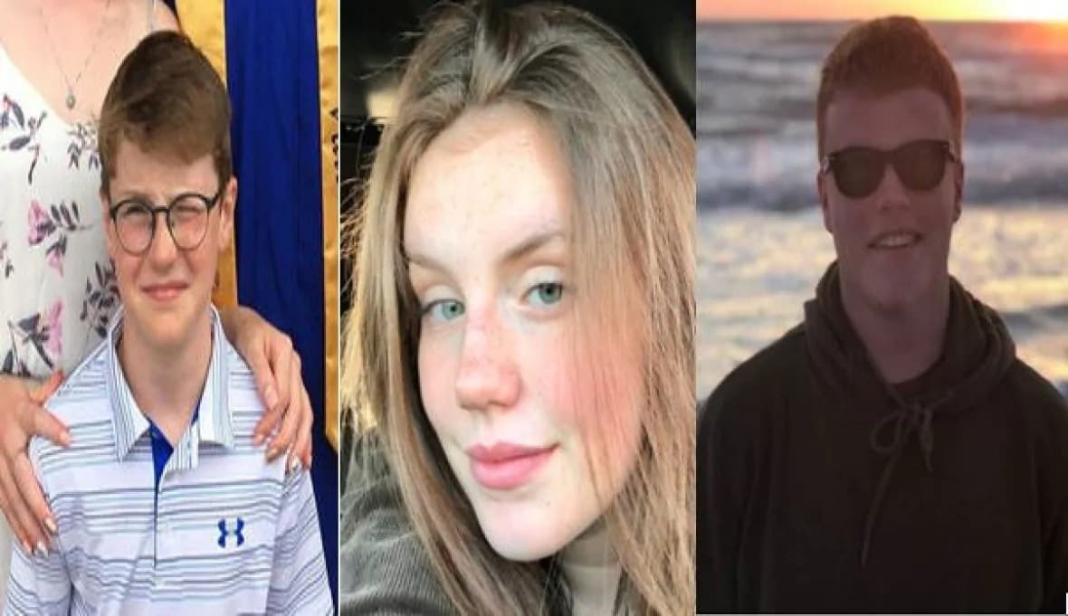 یک خواهر و دو برادری که در تیراندازی دائی خود به قتل رسیدند