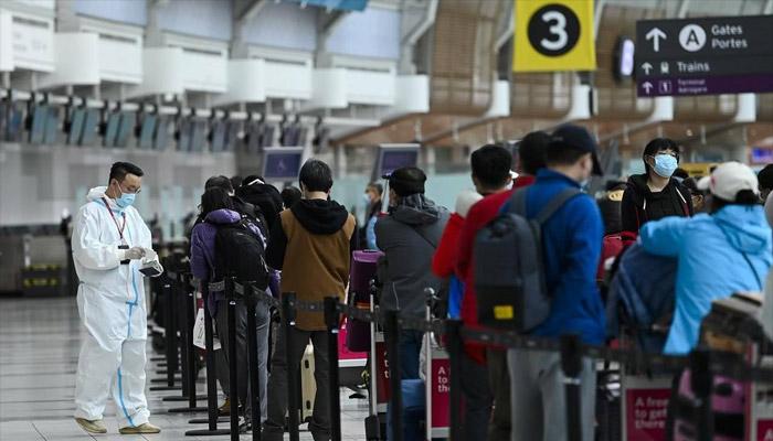 تست کرونای داوطلبانه و رایگان از مسافران پروازهای ورودی خارجی در فرودگاه تورنتو